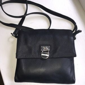 Calvin Klein leather cross-body